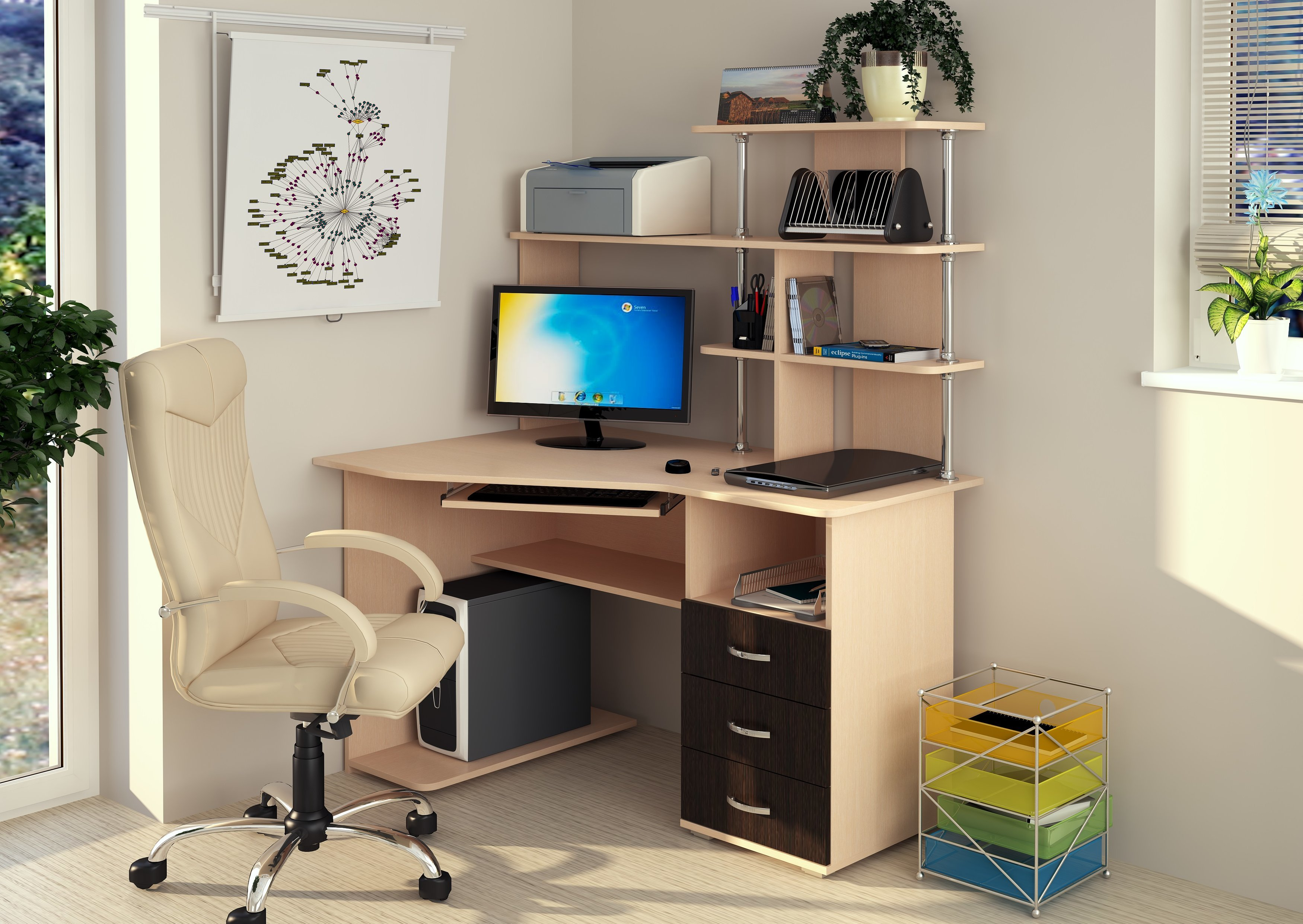Форест стол компьютерный / комп. столы.