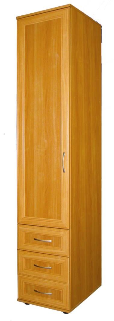 Шкаф - пенал шк-6а для белья с 3-мя ящиками - купить за 4883.